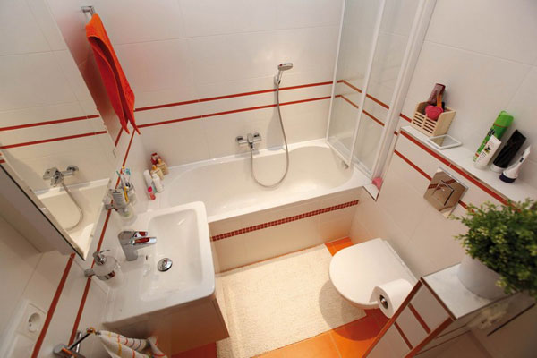 Compact Modern Bathroom Interior Design