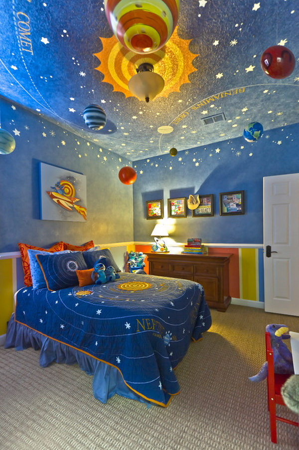 contemporary-boys-bedroom-solar-system-decoration-by-hobus-homes