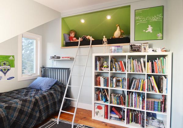contemporary-boys-bedroom-with-bookshelf-by-merzbau-design-collective