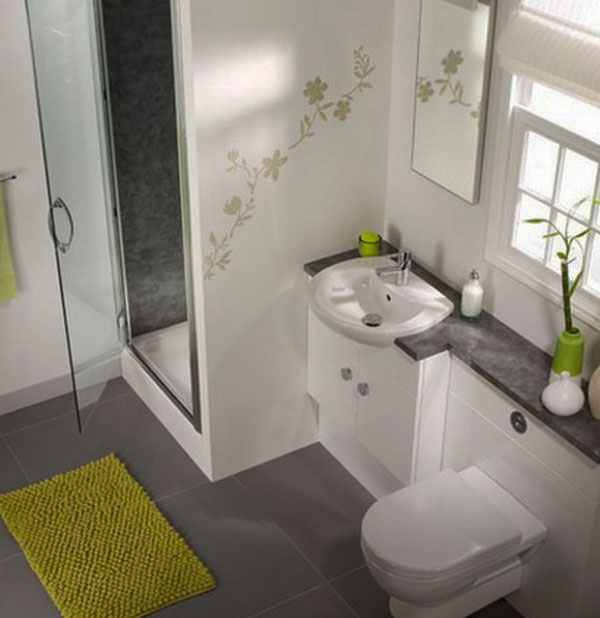 Contemporary Small Bathroom Interior Design