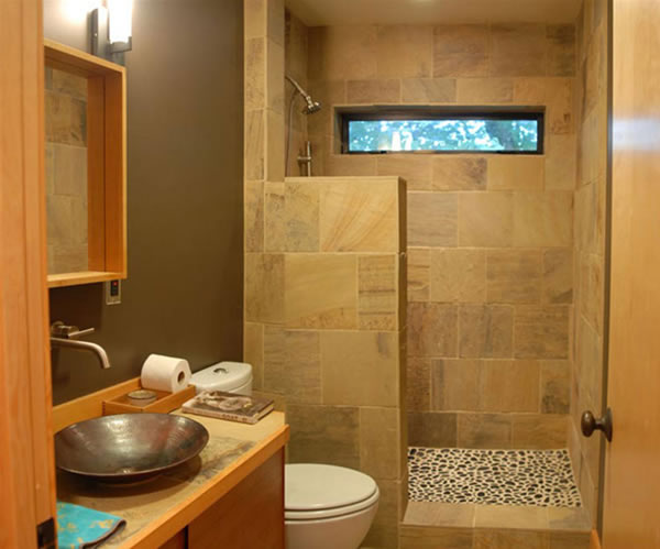 Simple Decoration For Small Bathroom