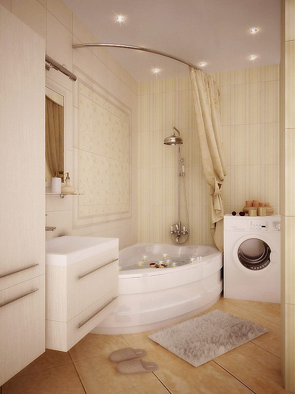 100 small bathroom designs ideas for Small bathroom design ideas with tub