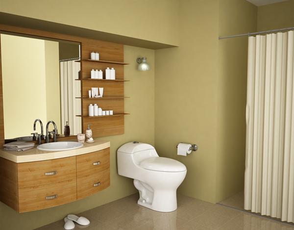 Small Bathroom Design Plan