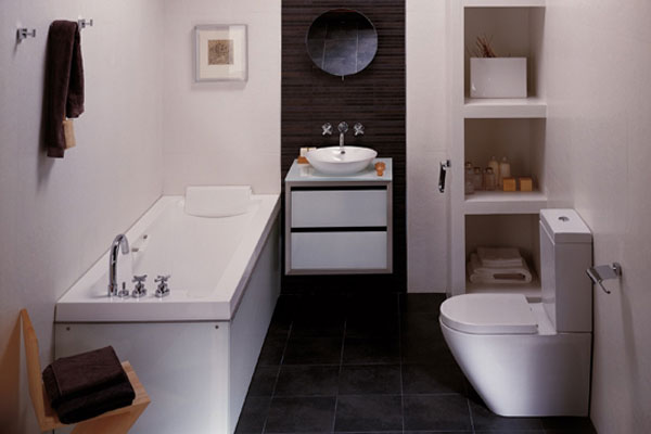 Small Bathroom Interior Decoration