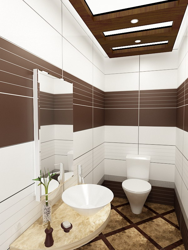 100 small bathroom designs ideas for Brown and white bathroom accessories
