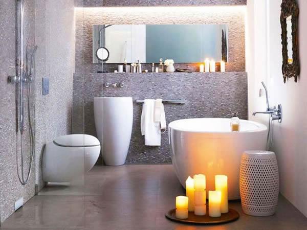 Small Contemporary Bathroom Decoration