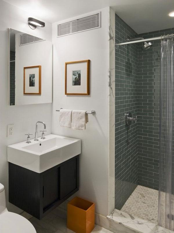 Tiny Bathroom Decorating
