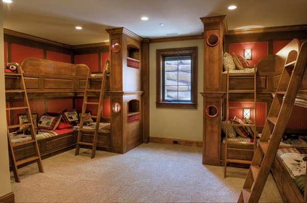 traditional-boys-bunkroom-design-by-gabriel-builders