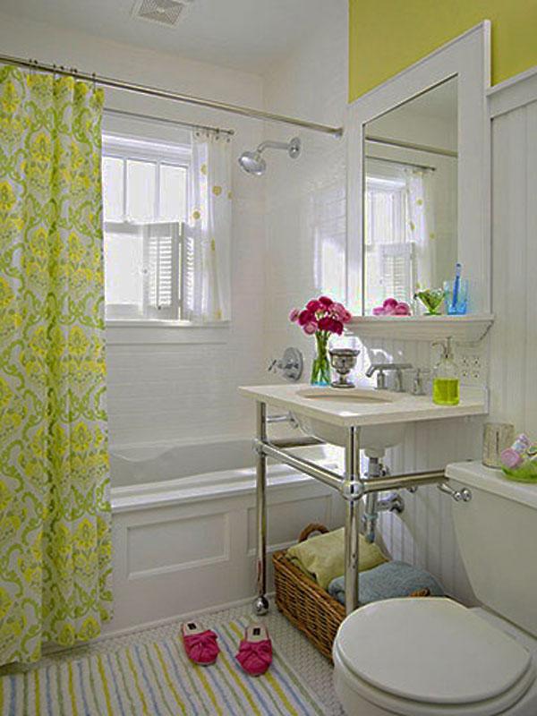 Traditional Small Bathroom Decorating