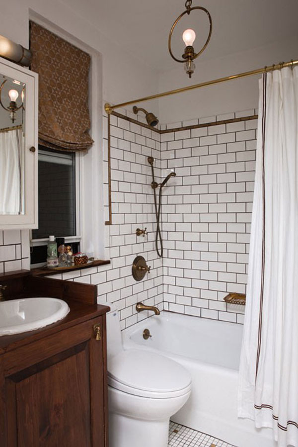 traditional small bathroom design - Small House Bathroom Design
