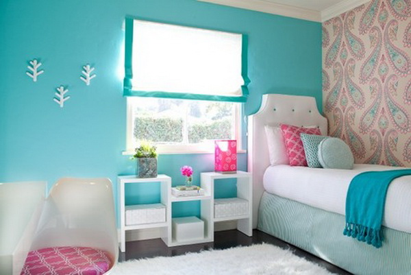 Blue Girl's Bedroom