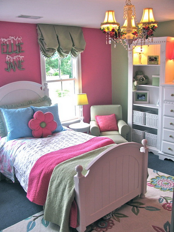 Cute Little Girl Bedroom