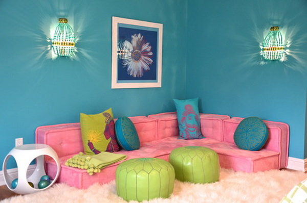 Fairy Tale Girl Bedroom Design