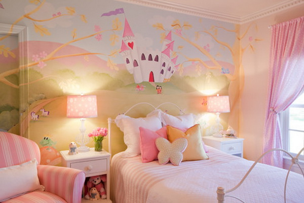 Girl Bedroom Painting Artwork
