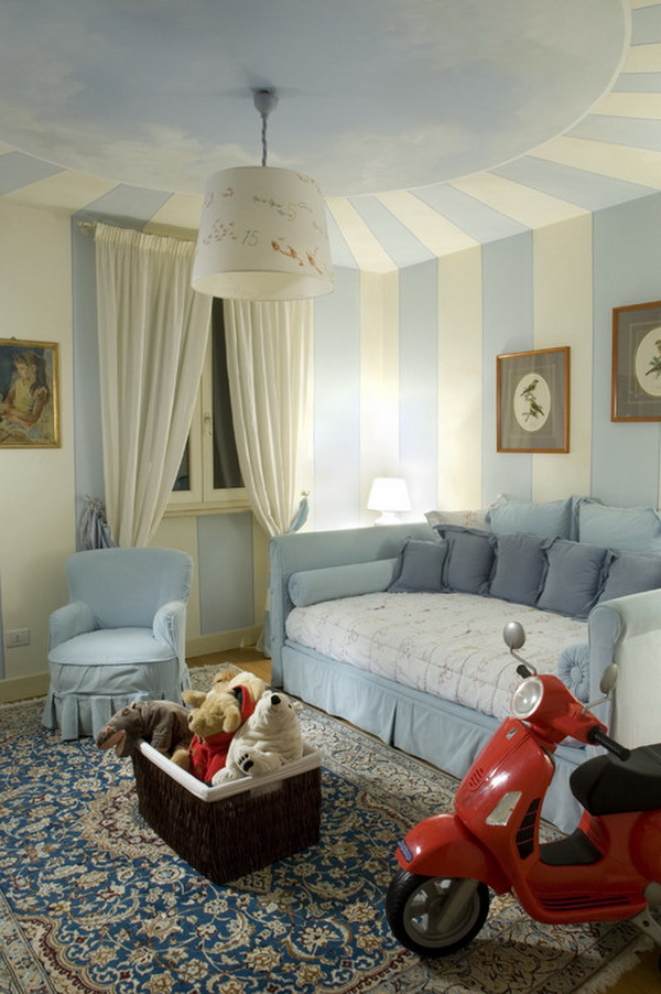 Italian Style Girls Bedroom Design