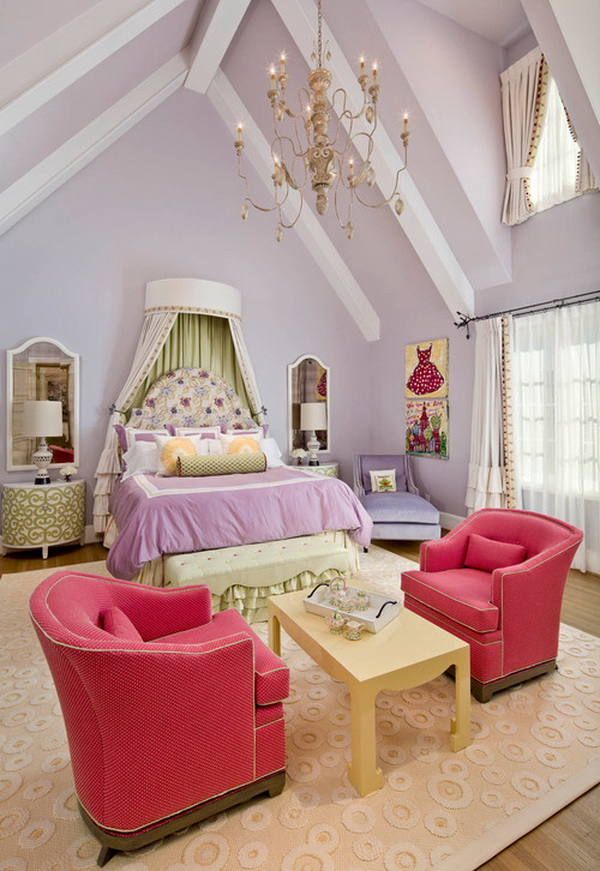Luxury Girls Bedroom Design