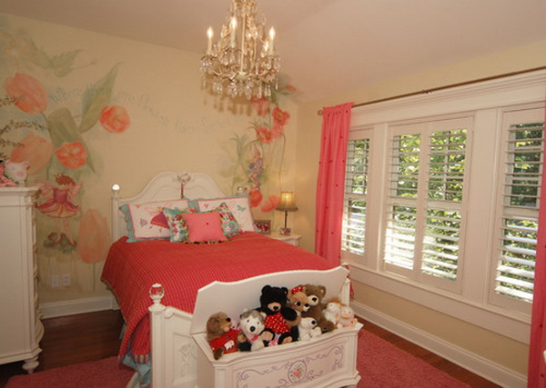 Pink Girls Bedroom Decorating