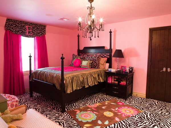 Pink Girls Bedroom Design