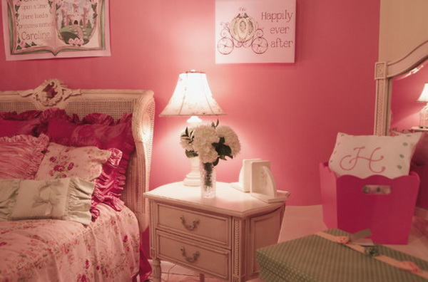 Pink Romantic Girl Bedroom