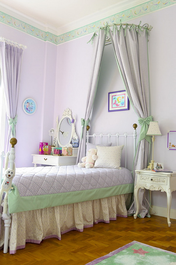 Purple Girl Bedroom Ideas