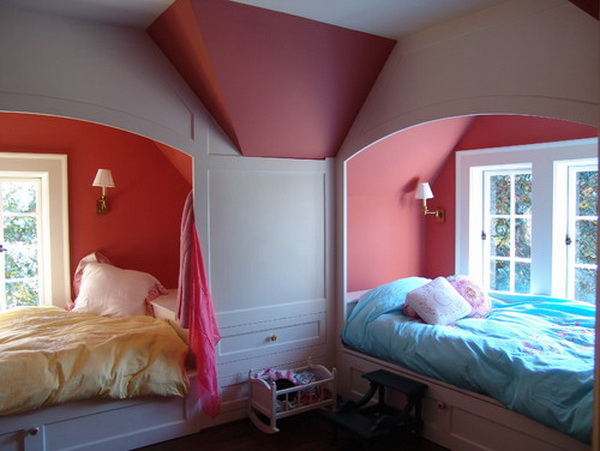 Traditional Girls Bedroom