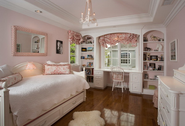 Traditional Girls Bedroom Decorating Ideas