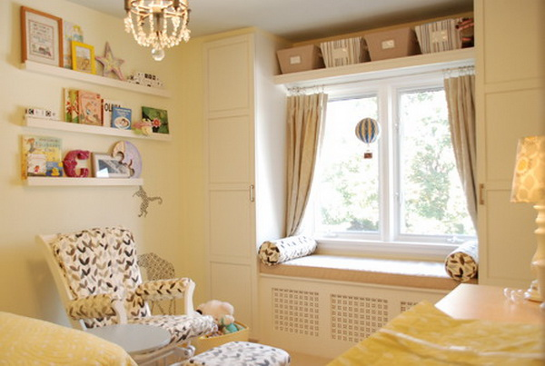 Yellow Girl Bedroom Decor