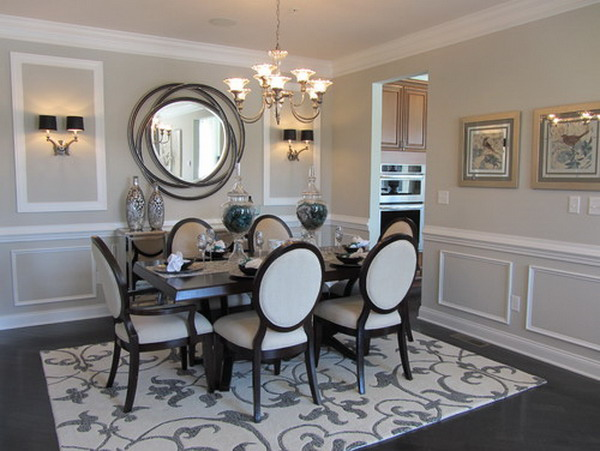 Buffet Lamps With Black Shades One More Thought She Frames The Pictures For Hang In That Looks Stunning Nail Heads On Chairs