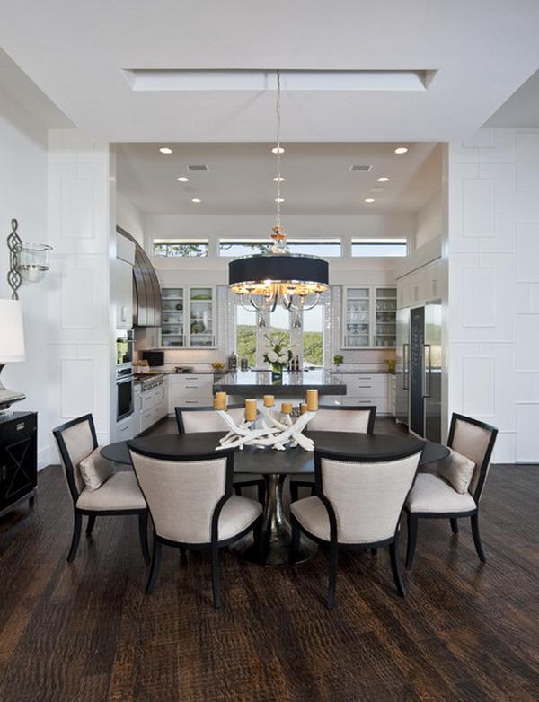 40 beautiful modern dining room ideas for Dining room ideas 2013