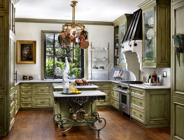 50 beautiful country kitchen design ideas for inspiration for Country kitchen inspiration