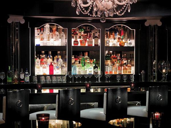 Black Basement Bar.