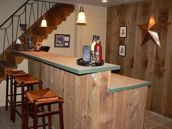 Basement Bar by jayekellie.