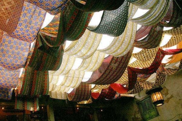 Fabric Ceiling,
