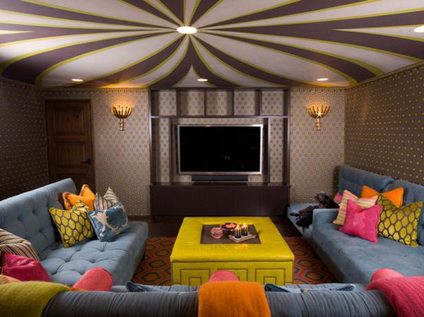 Man Cave Basement Idea. A Man Cave is a room in the house (although some men have been known to renovate sheds), where a man can get away from the pressures of daily family life.