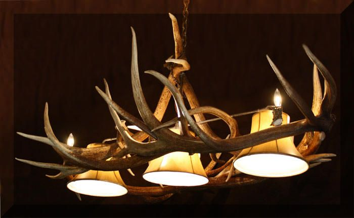 Antler Chandelier for Basement,