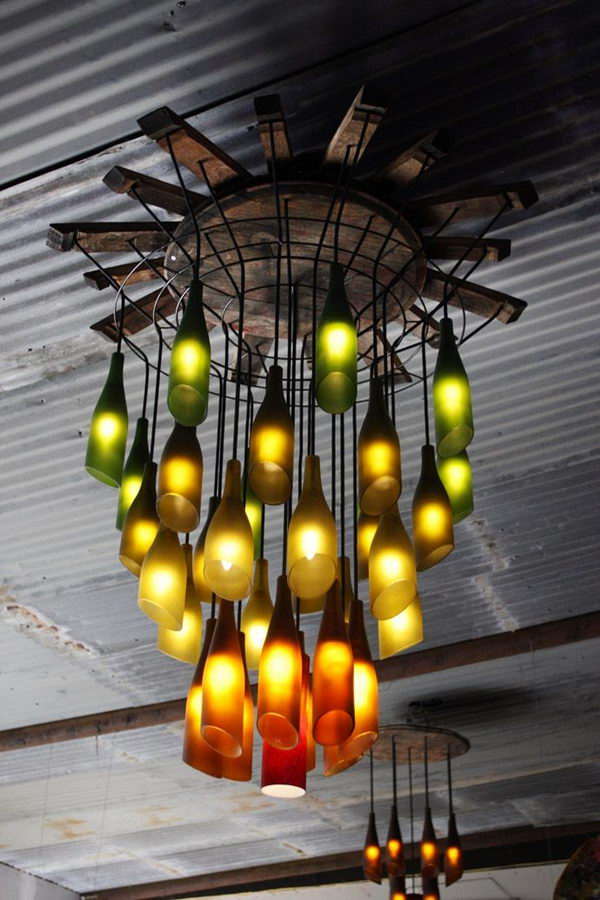Wine Bottle Lighting,