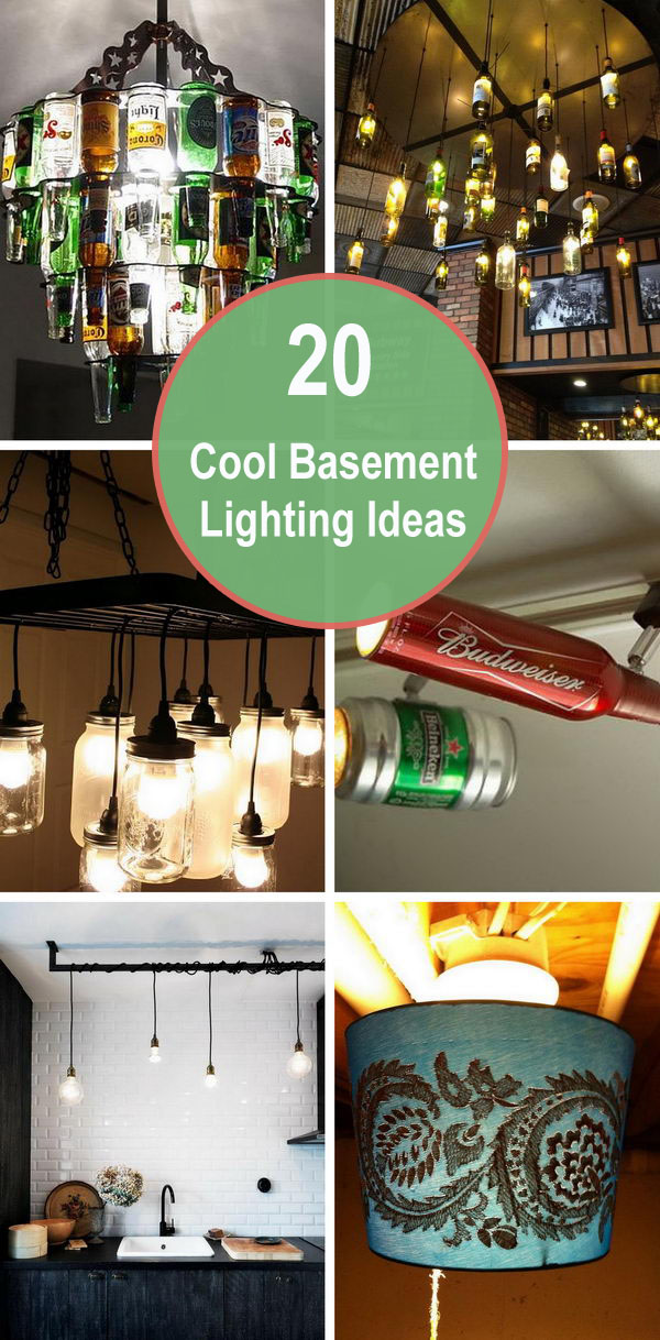 20 Cool Basement Lighting Ideas