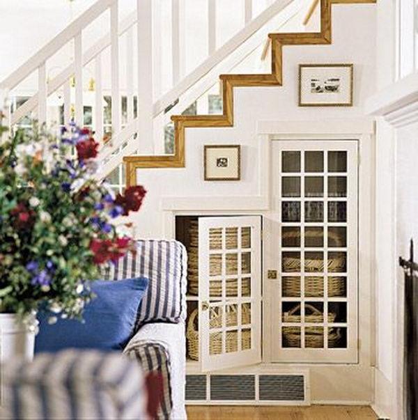 Basement Stairway Idea.