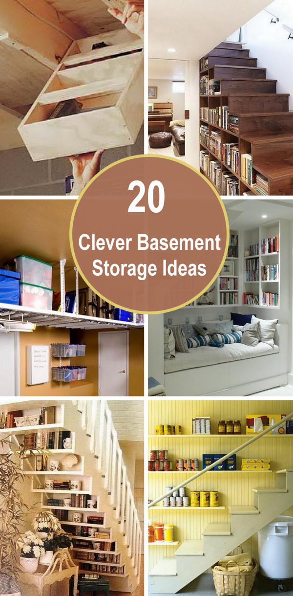 20 Clever Basement Storage Ideas.