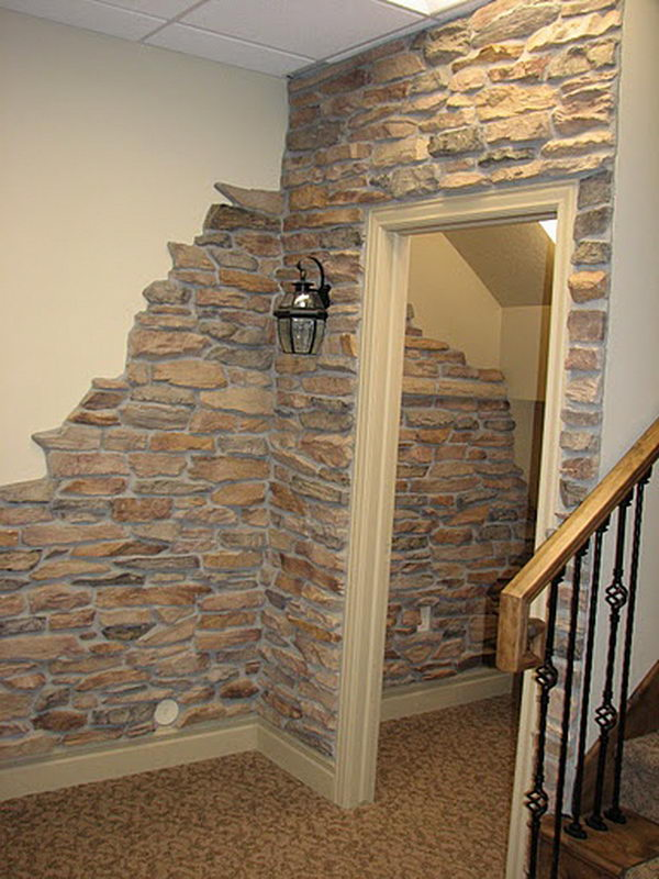 Cool Basement Wall,