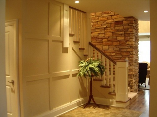 20 clever and cool basement wall ideas ideas for finishing basement steps ideas for covering basement steps