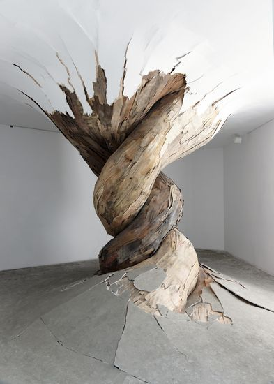 Installation Art by Henrique Oliveira.