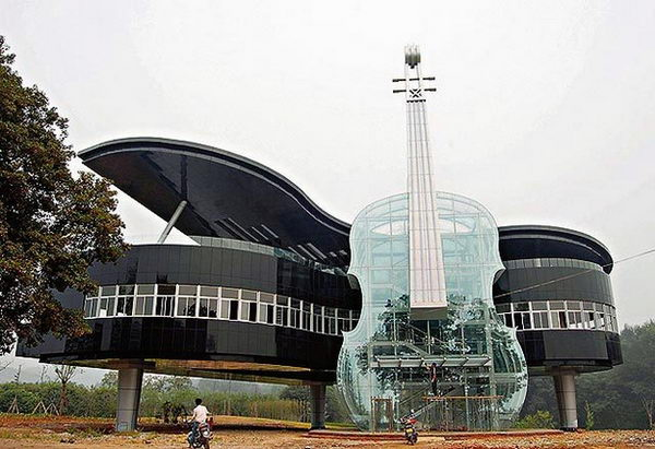 The Piano House (Anhui, China).