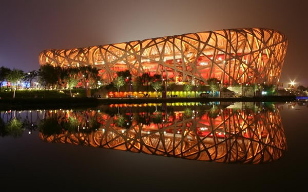 Beijing National Stadium (Beijing, China).