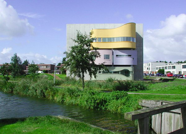 Wall House (Groningen, Netherlands).