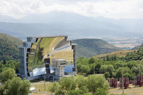 Solar Furnace (Odeillo, France).