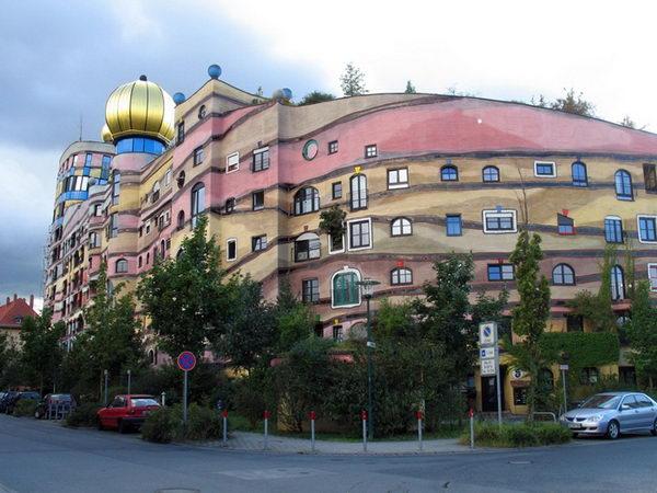 Forest Spiral (Darmstadt, Germany).
