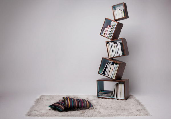 Equilibrium Bookcase Decorative Shelving,