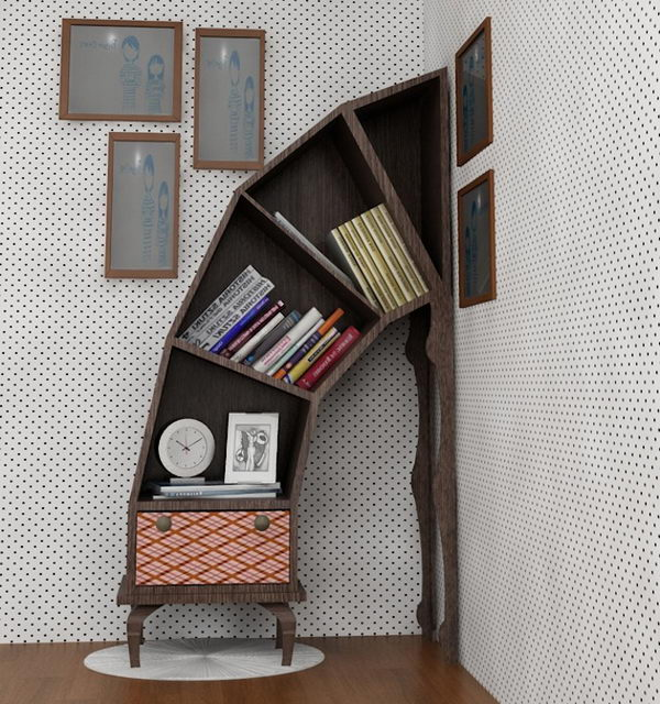 Unique Shelves,