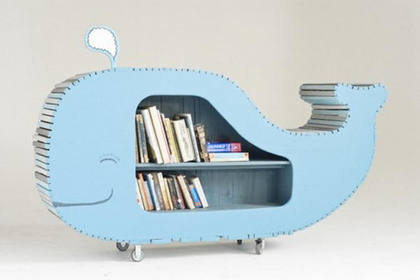 Whale Shelving Idea,